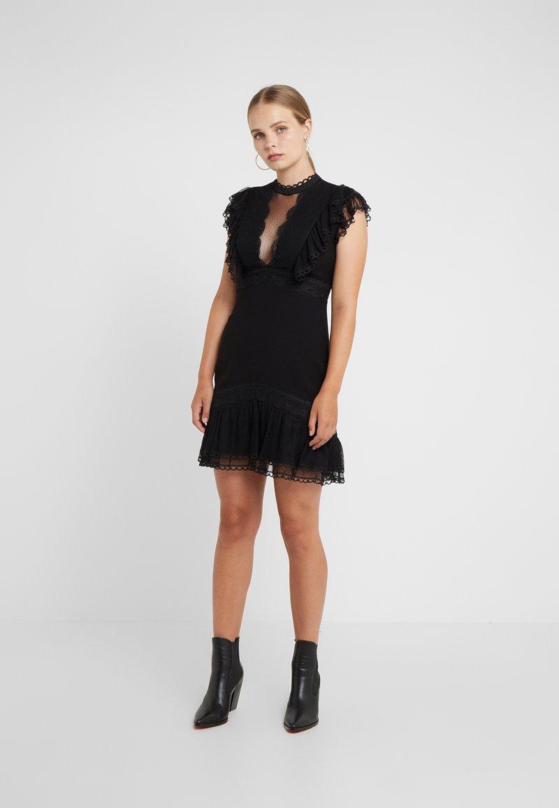 Three Floor - EXTRA ILLUSION DRESS - Cocktailkjoler / festkjoler - black