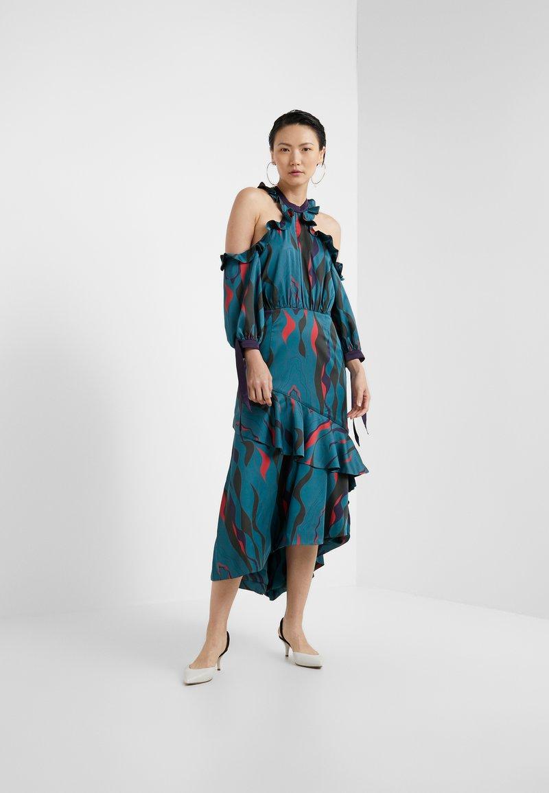Three Floor - CORSICA DRESS - Cocktailkleid/festliches Kleid - teal green