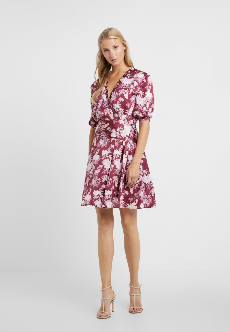 Three Floor - CAPRICIOUS DRESS - Vestido de cóctel - anemone purple