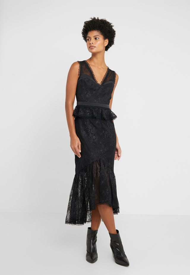 HYPNOTIC DRESS - Koktejlové šaty/ šaty na párty - black