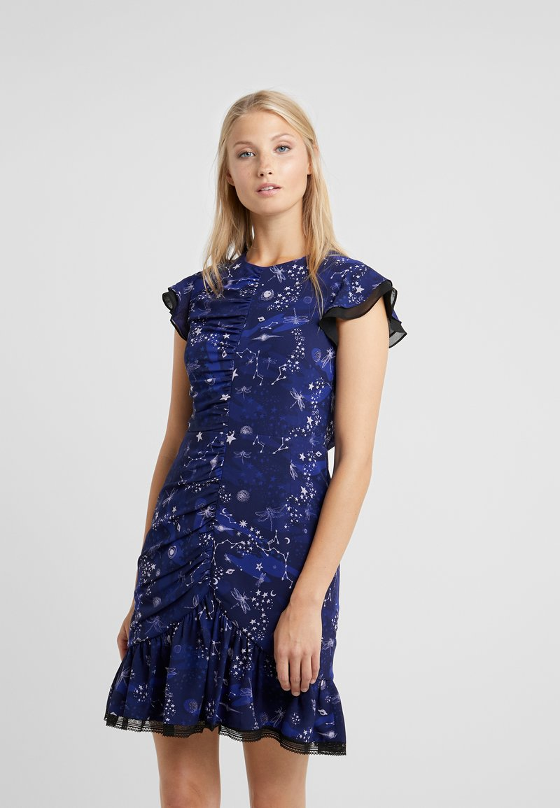 Three Floor - AFTERGLOW DRESS - Cocktailkleid/festliches Kleid - midnight navy