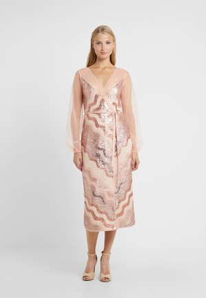 WRAP IT DRESS - Cocktailklänning - dusty pink/faded rose