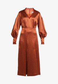 Three Floor - SUNSET DRESS - Koktejlové šaty/ šaty na párty - bronze - 5