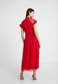 Three Floor - CENTIFOLIA DRESS - Juhlamekko - scarlet red - 2
