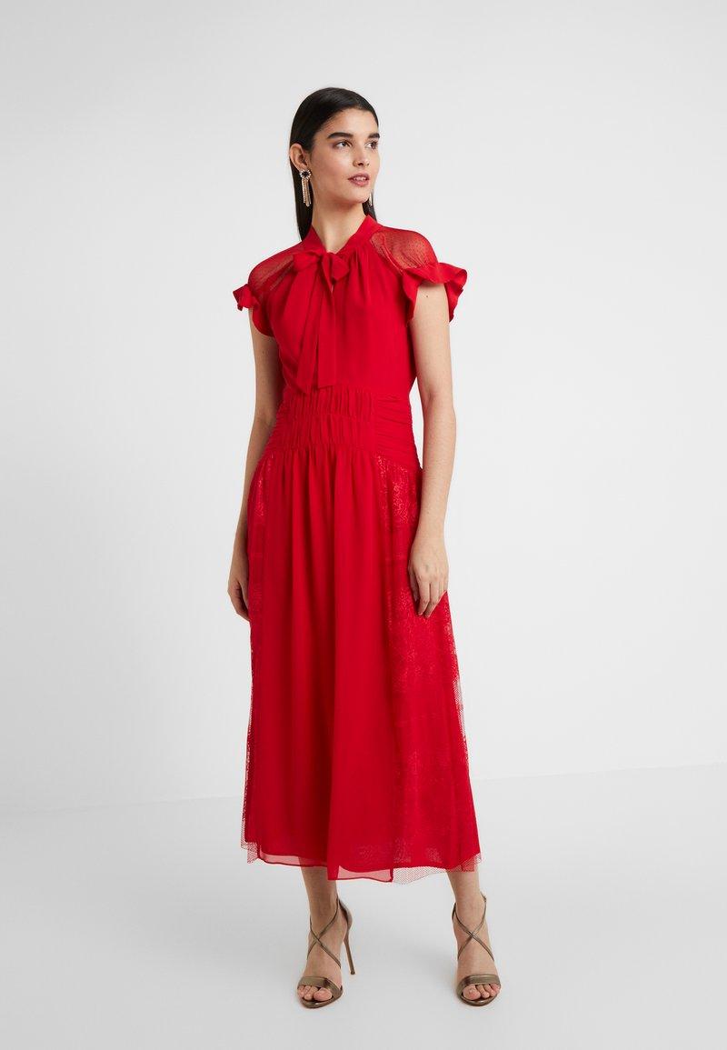 Three Floor - CENTIFOLIA DRESS - Juhlamekko - scarlet red
