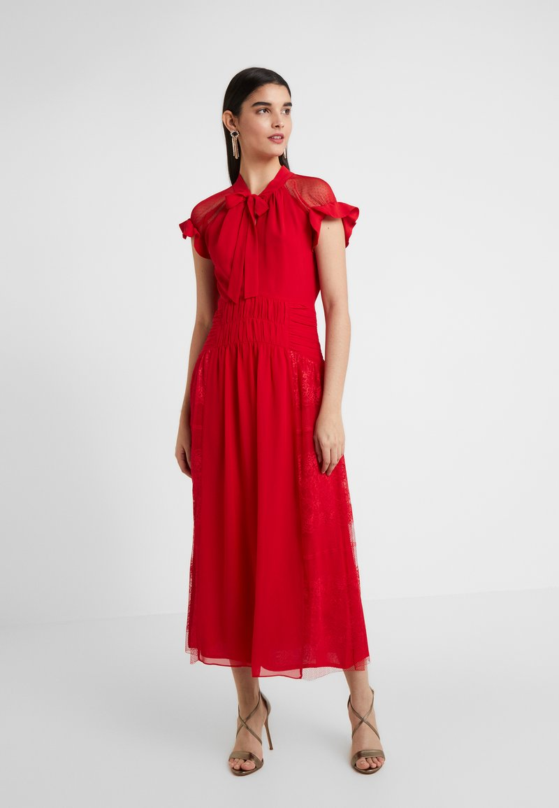 Three Floor - CENTIFOLIA DRESS - Cocktailkjole - scarlet red