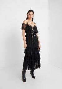 Three Floor - INFERNO DRESS - Maxi šaty - black - 1
