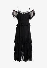 Three Floor - INFERNO DRESS - Maxi šaty - black - 4