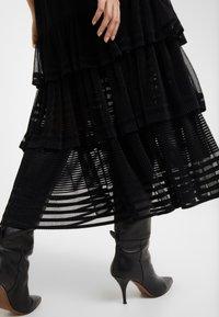 Three Floor - INFERNO DRESS - Maxi šaty - black - 3
