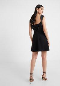 Three Floor - PERETTI DRESS - Koktejlové šaty/ šaty na párty - black - 2