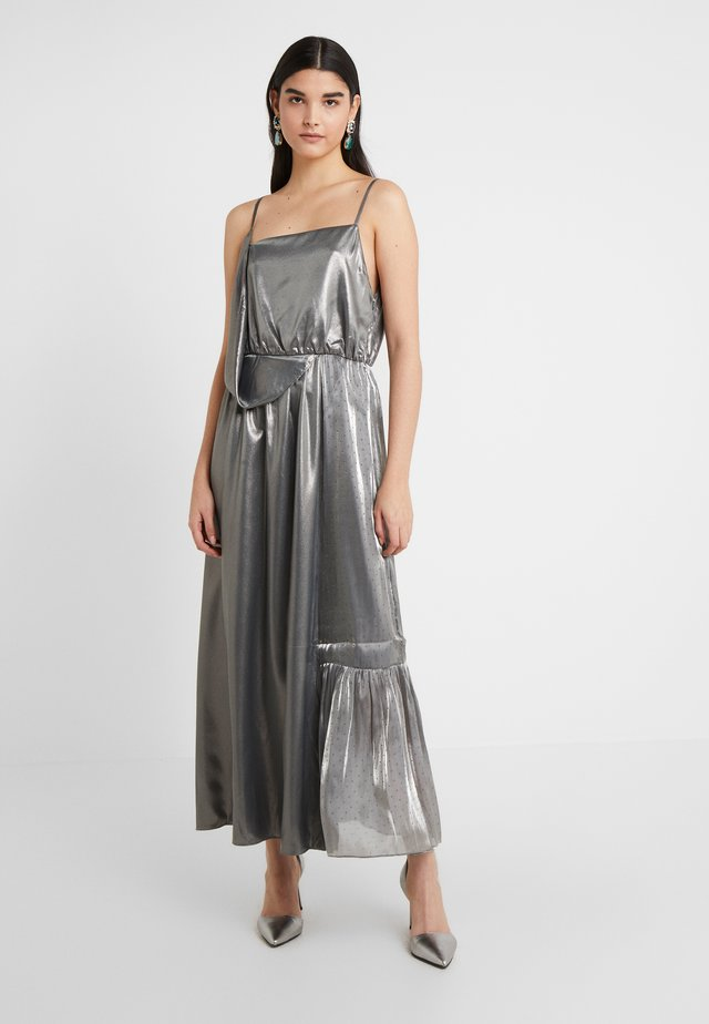 BOUVIER DRESS - Occasion wear - silver