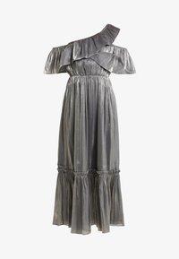 Three Floor - MOON STONE DRESS - Cocktailkleid/festliches Kleid - pewter metallic - 3