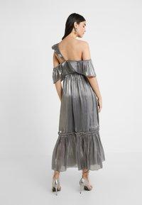 Three Floor - MOON STONE DRESS - Cocktailkleid/festliches Kleid - pewter metallic - 2