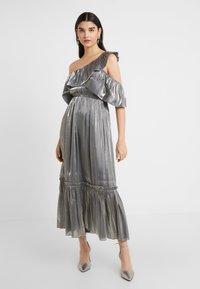 Three Floor - MOON STONE DRESS - Cocktailkleid/festliches Kleid - pewter metallic - 0