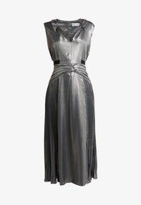 Three Floor - MERCURY DRESS - Cocktailkjole - pewter metallic - 3