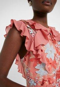 Three Floor - EXCLUSIVE DRESS - Sukienka koktajlowa - red/multi-coloured - 7