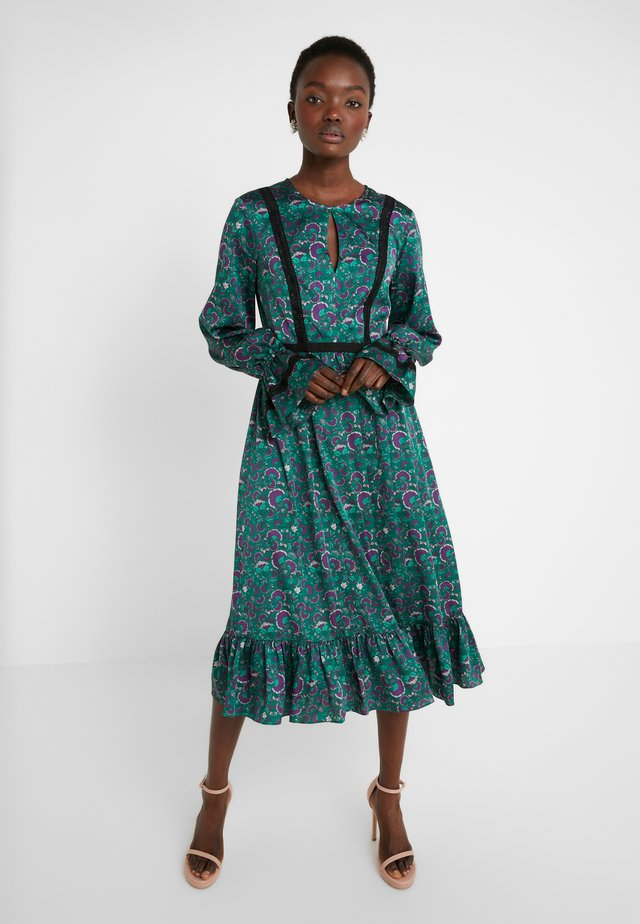 Cocktail dress / Party dress - green multi