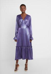 Three Floor - EXCLUSIVE DRESS - Juhlamekko - twilight purple/blue - 0