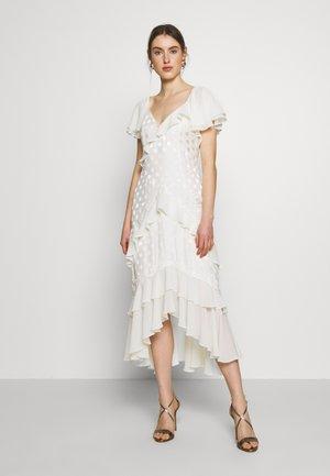 PERLE DRESS - Abito da sera - off white