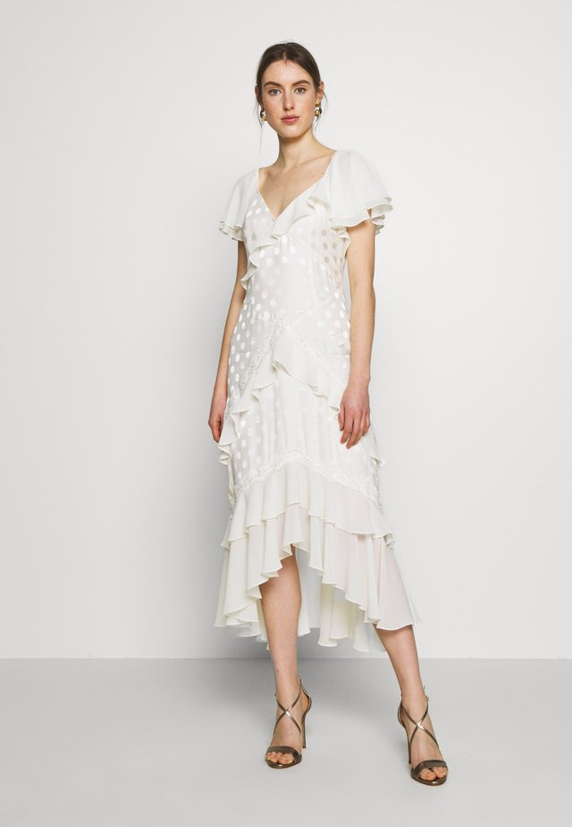 PERLE DRESS - Iltapuku - off white