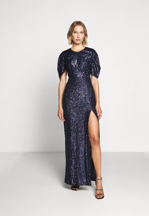 AMIRA DRESS LUX CAPSULE COLLECTION - Galajurk - space navy