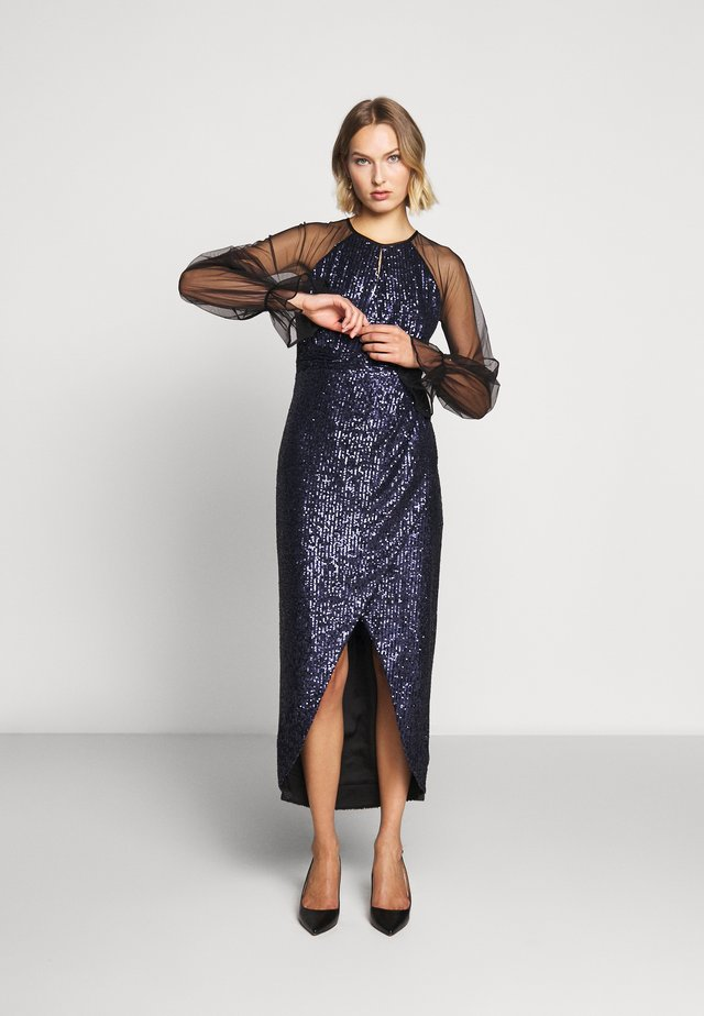 MAYSAN DRESS LUX CAPSULE COLLECTION - Juhlamekko - space navy