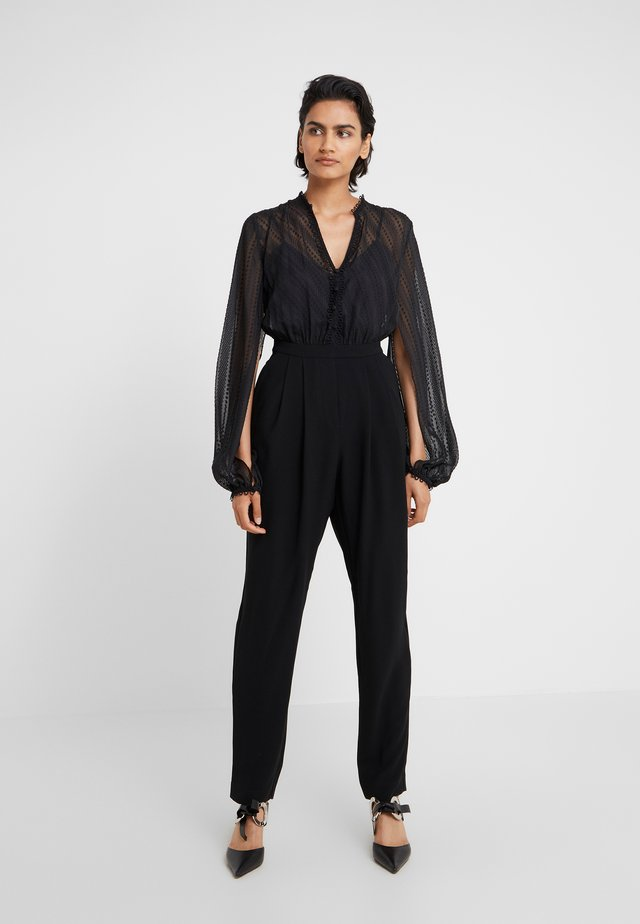 EMPIRE JUMPSUIT - Overal - black
