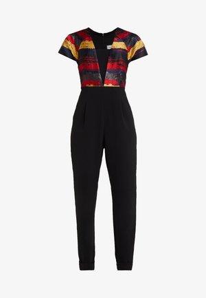 BOURDIN JUMPSUIT - Jumpsuit - scarlet red / navy / gold / black