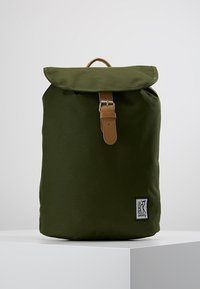 The Pack Society - SMALL BACKPACK - Rucksack - solid forest green - 0