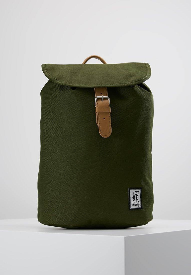 The Pack Society - SMALL BACKPACK - Rucksack - solid forest green