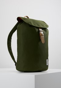 The Pack Society - SMALL BACKPACK - Rucksack - solid forest green - 3