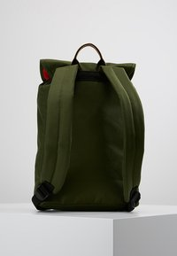 The Pack Society - SMALL BACKPACK - Rucksack - solid forest green - 2