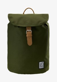 The Pack Society - SMALL BACKPACK - Rucksack - solid forest green - 5