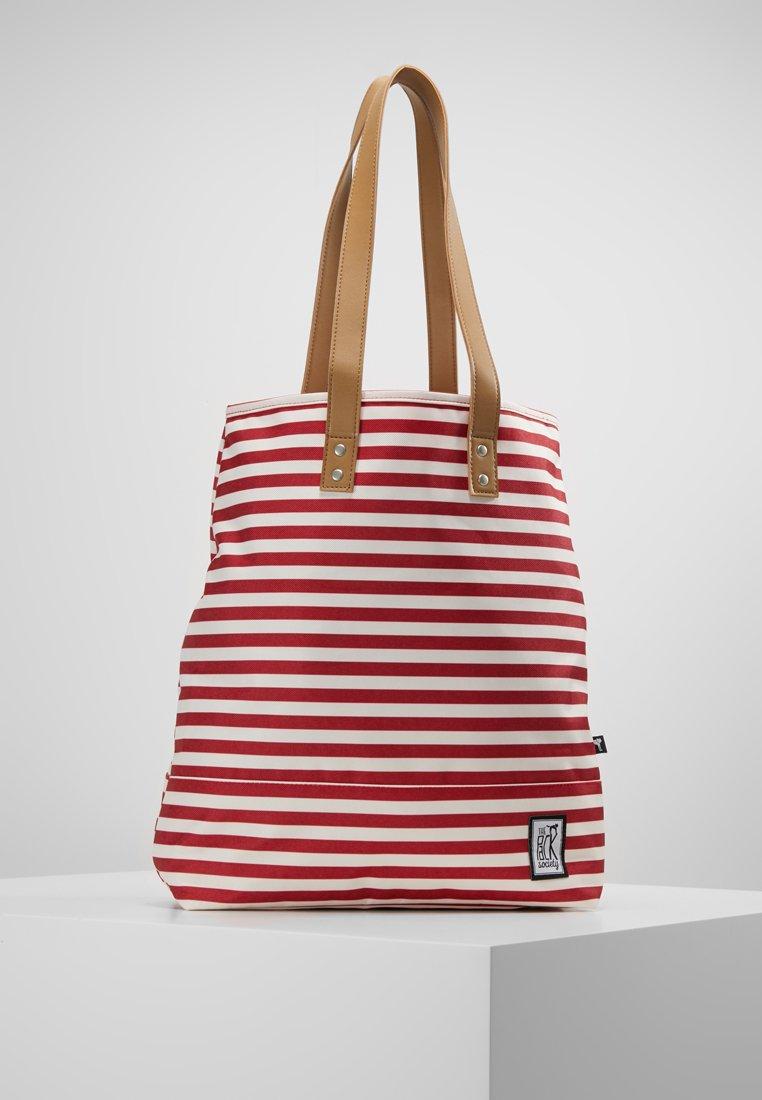 The Pack Society - SHOPPER - Shopper - stripe red