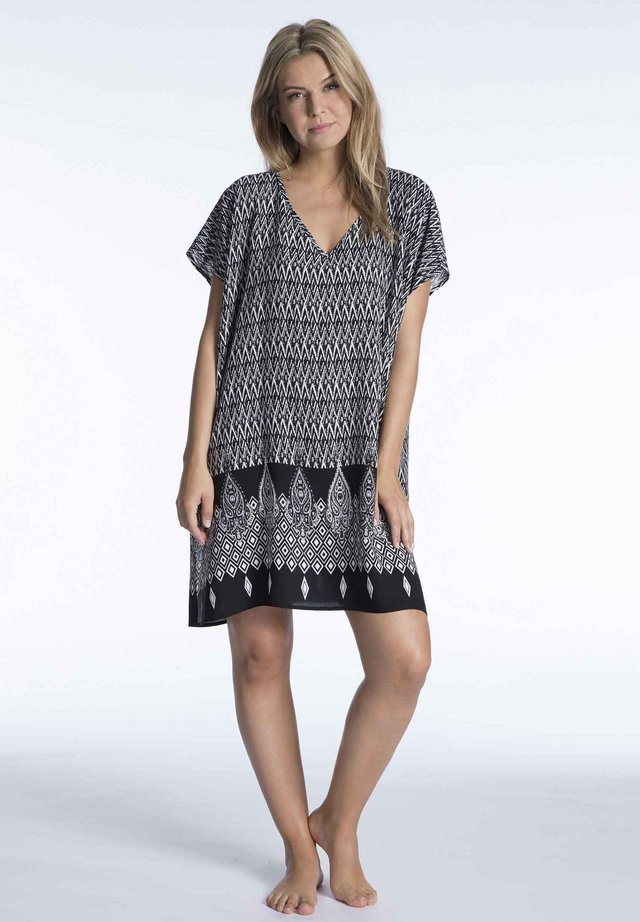 Nightie - black-offwhite