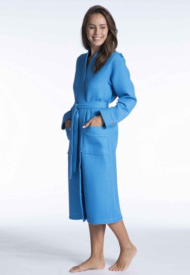 Dressing gown - blue petrol