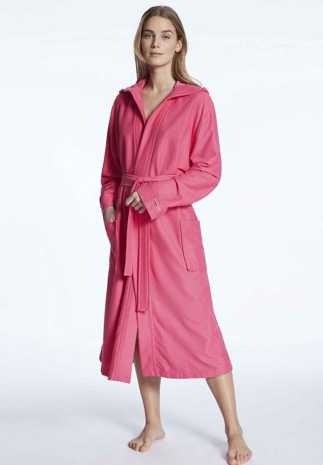 Dressing gown - bright pink