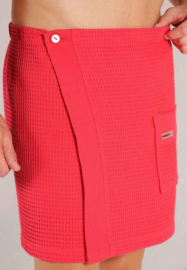 Sauna towel - red