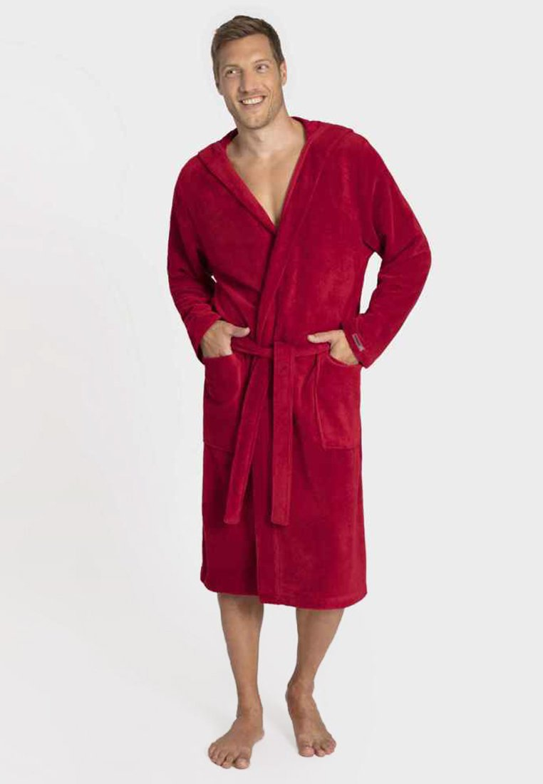 Taubert - MIT KAPUZE - Dressing gown - rosso