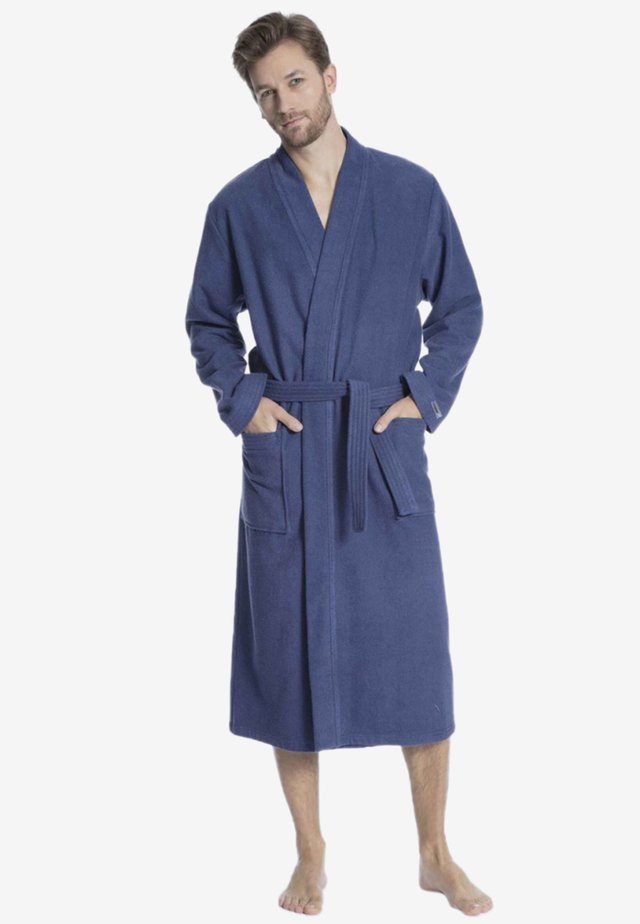 Dressing gown - deep cobalt