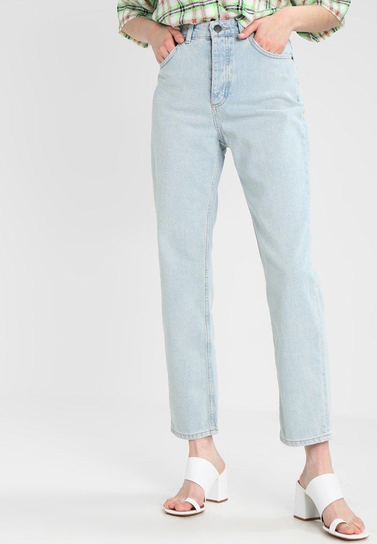 Topshop BOUTIQUE - SLIMMY JEAN - Jeans Slim Fit - bleached denim