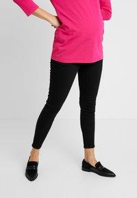 Topshop Maternity - JAMIE CLEAN - Jeansy Skinny Fit - black - 0