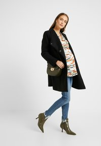 Topshop Maternity - JAMIE JAGGED HEM - Jeans Skinny Fit - blue denim - 1