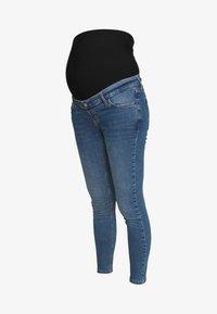 Topshop Maternity - JAMIE CLEAN - Skinny džíny - blue denim - 4