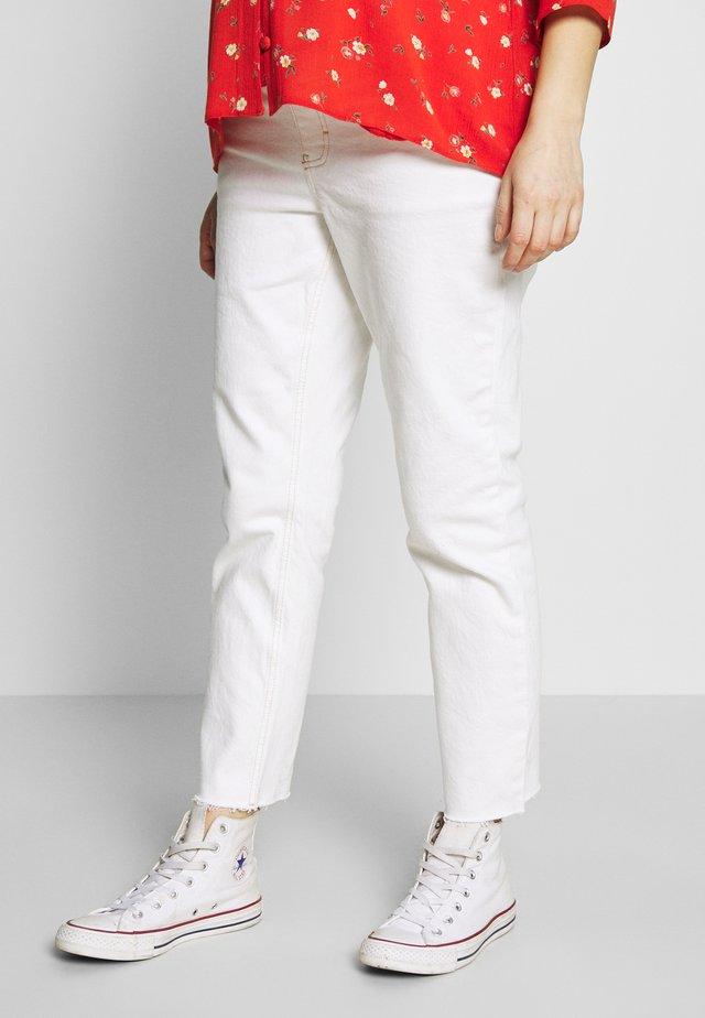 OB CLEAN - Straight leg jeans - white