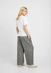 Topshop Maternity - SALT PEPPER - Broek - mono - 2
