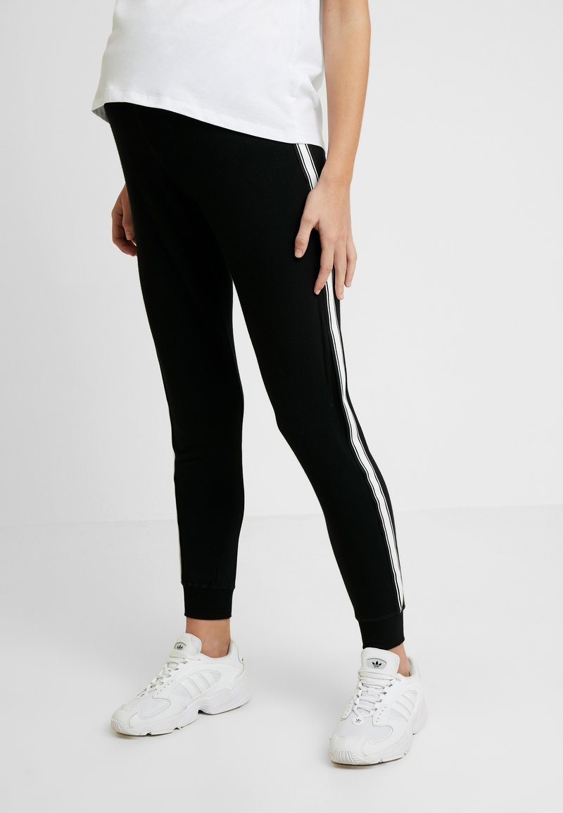 Topshop Maternity - JEGGER - Trainingsbroek - black