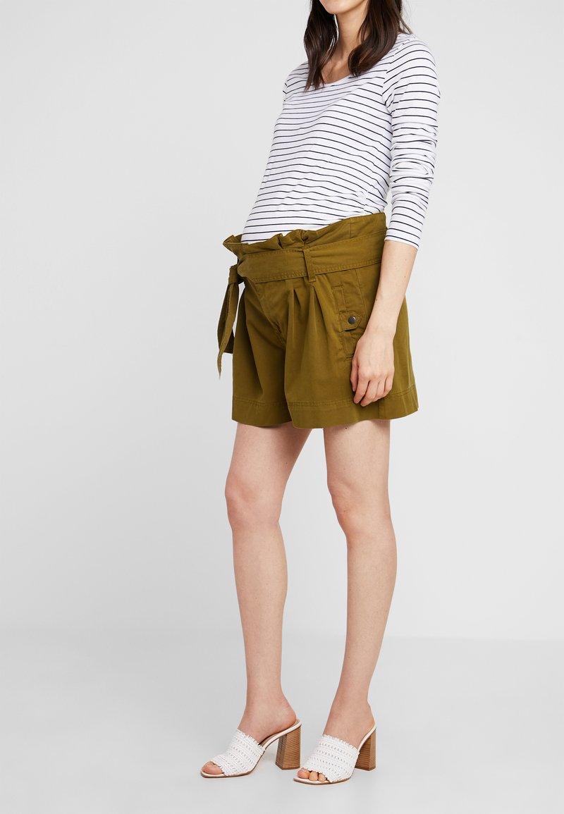 Topshop Maternity - UTILITY - Shorts - khaki