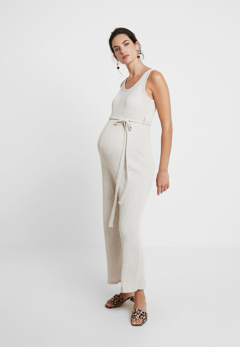 Topshop Maternity - SLOUCH - Overal - beige
