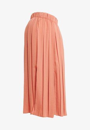 SUMMER SKIRT - Veckad kjol - coral